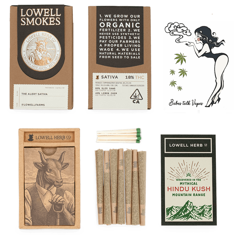 pre rolln pack review with Lowells